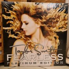 TAYLOR SWIFT Fearless PLATINUM EDITION Double Vinyl LP - NEW & SEALED