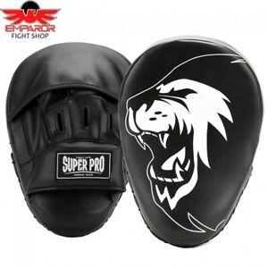 Super Pro Handpratzen Curved PU MMA Boxen Kickboxen Schlagpolster Pads Pratzen