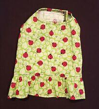 Ladybugs Ruffled Shirt Dog Puppy Pet Teacup Apparel Clothes Xxxs - Large