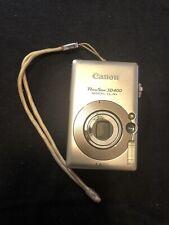 Canon PowerShot Digital ELPH SD400 / Digital IXUS 50 5.0MP Digital Camera -...