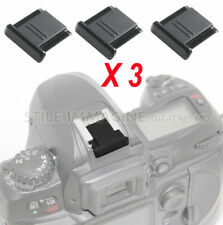 3 X PROTECTION COVER CONTACTS FLASH SLIDE NIKON etc universal as nikon BS-1