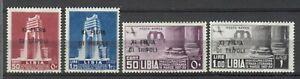 s34438 LIBIA 1937 MNH** Nuovi** XI Fiera Tripoli 4v   Sassone #142/43 + A32/33