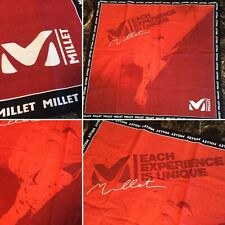 Vtg MILLET Mountain Climbing BANDANA ~ French Mountaineer Rock Ice Expedition