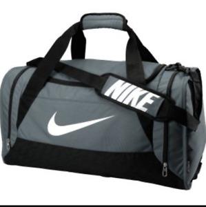 Nike Basilia Training Duffle Bag Size Medium (GREY)
