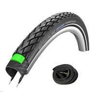 Schwalbe Marathon HS 420 Tyre ETRTO 44-355 (18 x 1.65 Inch) with Presta Tube