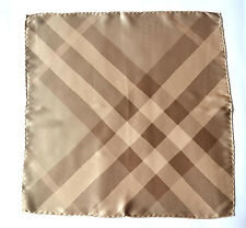 BURBERRY LUXUS TUCH SCARF Carré платок SCIARPA FOULARD SEIDE SILK 46x46 UVP 229€