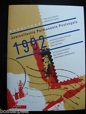 PTT JAARCOLLECTIE 1992 SUPPLEMENT PERMANENTE POSTZEGELS LANGLOPEND