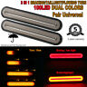 2x Halo Neon 100 LED RV Trailer Truck Stop Flowing Turn Signal Brake Tail Light