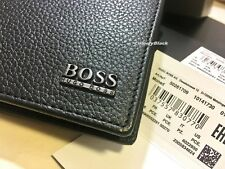 MEN'S BRAND NEW DESIGNER HUGO BOSS 'MONAD' TRIFOLD WALLET GIFT BOXED.