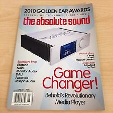 The Absolute Sound Issue 203, 2010 TAS MUSIC Golden Ear Awards Speakers Review
