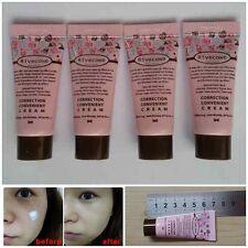Rivecowe CC Cream Upgrade BB Skin Care+Makeup Foundation Korea Mini 5ml(4packs)
