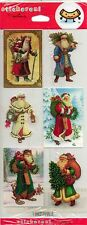 St. Nicholas Stickers - Old World Santa Claus - by Hallmark - New In Package