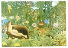 (11429) Postcard Yodwigha's Dream Henri Rosseau  Modern Art modern card.