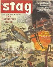 STAG September 1959 - MORT KUNSTLER, JUNE WILKINSON, SAMSON POLLEN, BOB STANLEY