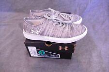 New Under Armour Grade School KickIt2 SD Sneaker Overcast Gray sz 4y 3020046-101