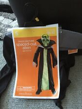New Child Halloween Costume Spaced-out Alien Size Small