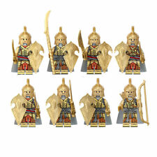 8pcs/set Ancient Guard Soldiers Boys Building Blocks Bricks Figures Models Toys