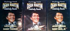 DEAN MARTIN - CELEBRITY ROASTS - (3) DVD'S - SEALED - LUCY, GLEASON, DEAN, SAMMY