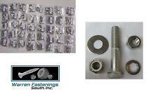 STAINLESS STEEL ASSORTMENT BOLT NUTS WASHERS & LOCKNUTS 1870PC COARSE & BOLT BIN