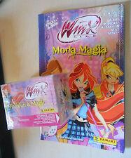 WINX club Moda & Magia stickers figurine EMPTY ALBUM+box 50 bustine PANINI 2008