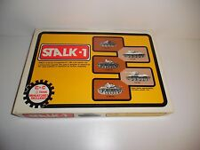 STALK-1 War Strategy Game by C in C, with 10 Tank Miniatures - INCOMPLETE, READ