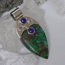 Lapis Lazuli-Echtschmuck-Anhänger aus Sterlingsilber