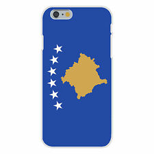 Kosovo World Country National Flag Fits iPhone 6+ Plastic Snap On Case Cover New