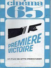 CINEMA 65 n°96 mai 1965 premiere victoire
