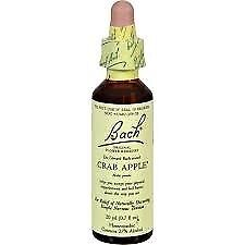 Crab Apple Bach Flower Essences 20 ml Liquid