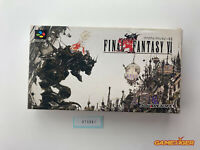 FINAL FANTASY VI 6 Nintendo Super Famicom SFC JAPAN Ref:315691
