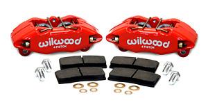 Wilwood Integra Civic 262mm 4-piston Front Brake Caliper Pad Dynapro Kit