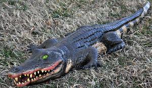Alligator Swamp Foam Fill 4Ft  Decoration Prop
