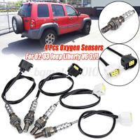 4x Upstream Downstream Oxygen O2 Sensor For Jeep Liberty V6 3.7L 2002 2003 USA