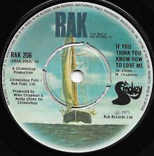 SMOKIE - IF YOU THINK YOU KNOW HOW TO LOVE ME / 'TIS ME - ORIGINAL 70s POP ROCK