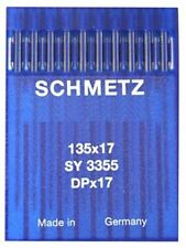 Schmetz Sewing Machine Needles 135x17~Size 100/16~10 Pack~Fast Free Shipping!