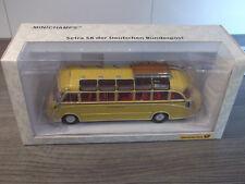 Minichamps Setra S 8 der Deutschen Bundespost ( Philatelie ) 006208 mit OVP 1:43