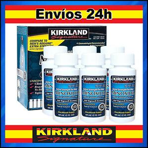 KIRKLAND Minoxidil5% ✅ 6 Meses Locion Cabello Barba Envíos 24h desde España ✅