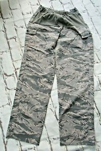 Genuine USAF Airforce Digital tiger stripe camouflage Maternity trousers size 20