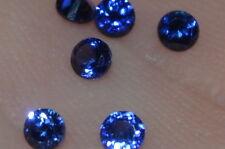 A Single 2.5mm MERAVIGLIOSI blu scuro TRATTATO ZAFFIRO NATURALE