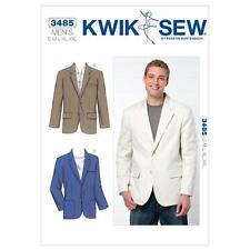 Kwik sew sewing pattern men's blazer taille s-xxl K3485