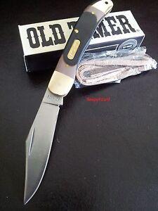 """Schrade Old Timer 4.0"""" Pioneer 123OT Folding Pocket Knife,Hunting,Bush,Work,Camp"""