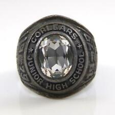 Vintage Sterling Silver 1979 Corlears Junior School Class Ring Size 6.5 LFB4