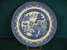 Churchill China Willow Blue Dinner Plate(s) England