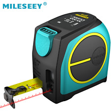 Mileseey 2-in-1 Laser Tape Measure Long-Distance Measuring 131 FT Rechargeable