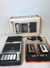 Vintage Craig Portable Cassette Recorder J101 WBox Manual AC Adaptor 2 60m Tapes