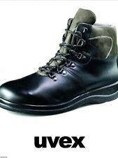 Uvex 9585/9 S2 Leather Safety Boots Steel Toecaps Size 9 43 Wide Fit