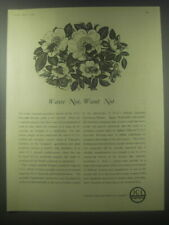 1954 ICI Imperial Chemical Industries Ad - Waste not, want not