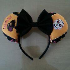 Day of the Dead~Dia de Los Muertos~Minnie~Ears~Handmade~Girl~Adult~Headband
