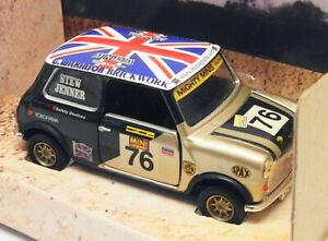 Corgi 1/36 Scale 04437 - Austin Mini Mighty Minis Racing Stewart/Jenner