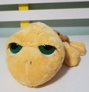 RUSS BERRIE PLUSH TOY TURTLE WITH KEEPSAKE POCKET IN SHELL!